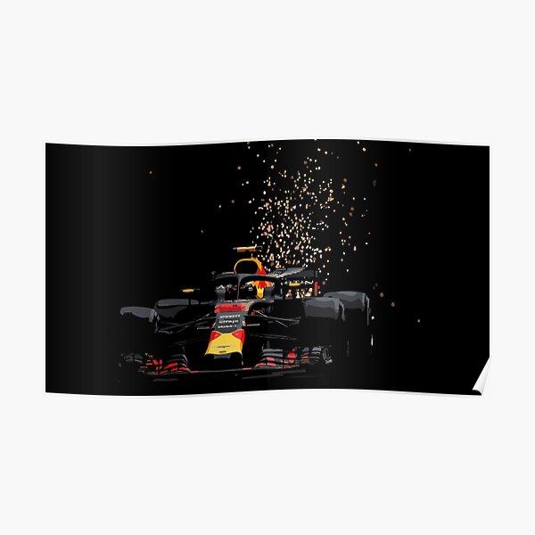 Max Verstappen - Redbull  Monaco Poster