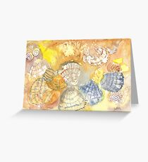 Sally Sells Sea Shells by the Seashore Greeting Card