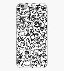 Shadowhunter Runes iPhone Case