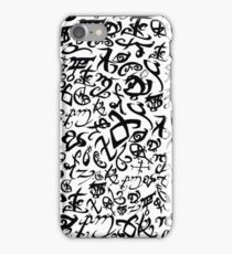 Shadowhunter Runes iPhone Case/Skin