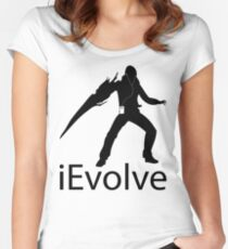iEvolve Women's Fitted Scoop T-Shirt