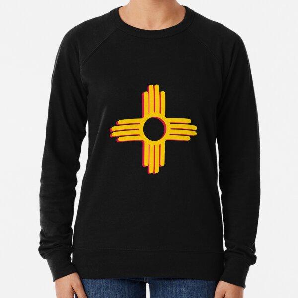 Zia symbol New Mexico symbol Lightweight Sweatshirt