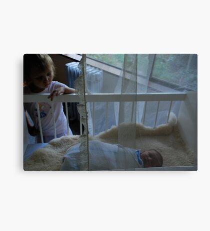not the baby anymore Canvas Print