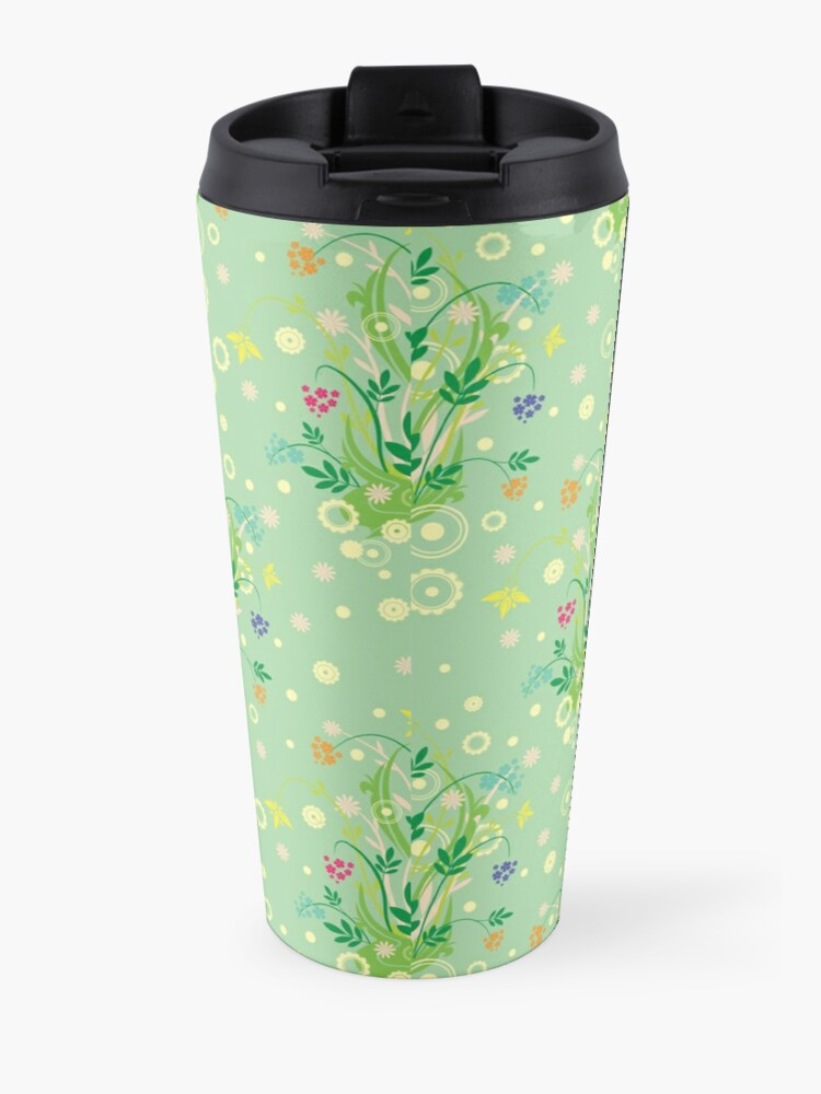 Alternate view of Decorative products with floral ornament. Travel Mug