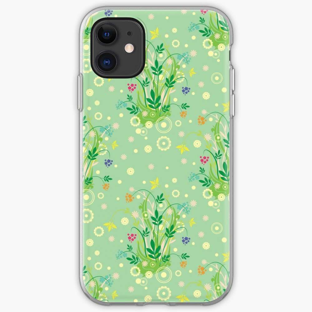 Decorative products with floral ornament. iPhone Case & Cover