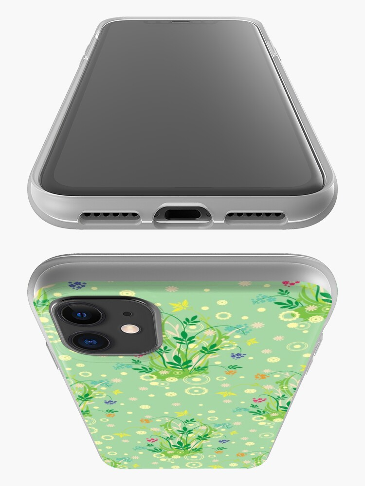 Alternate view of Decorative products with floral ornament. iPhone Case & Cover