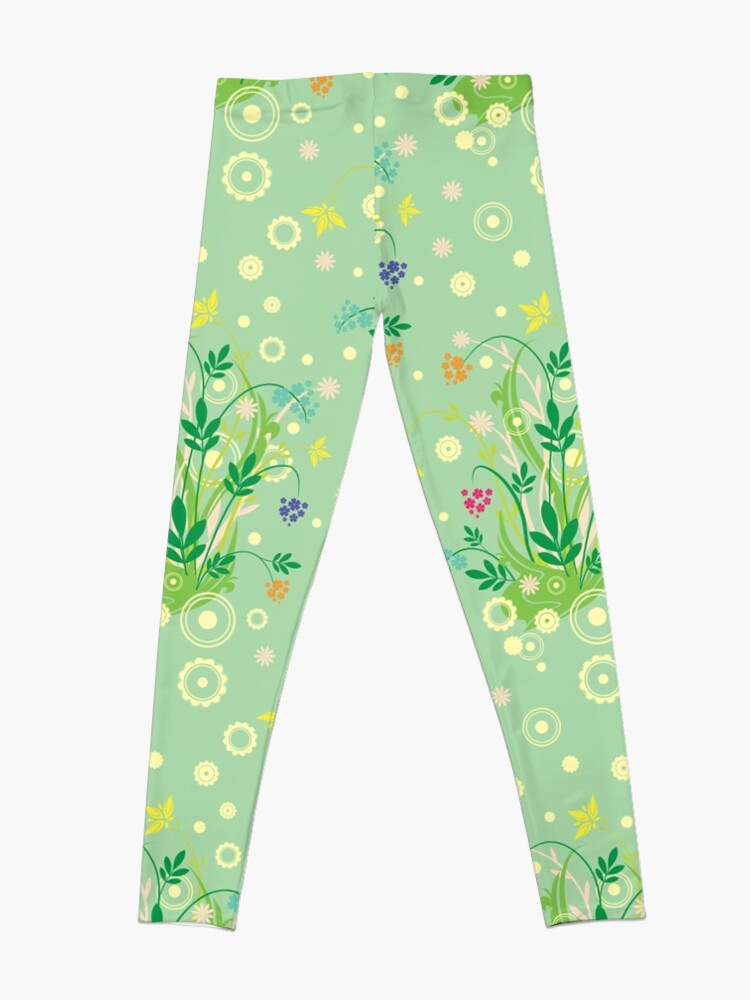 Alternate view of Decorative products with floral ornament. Leggings