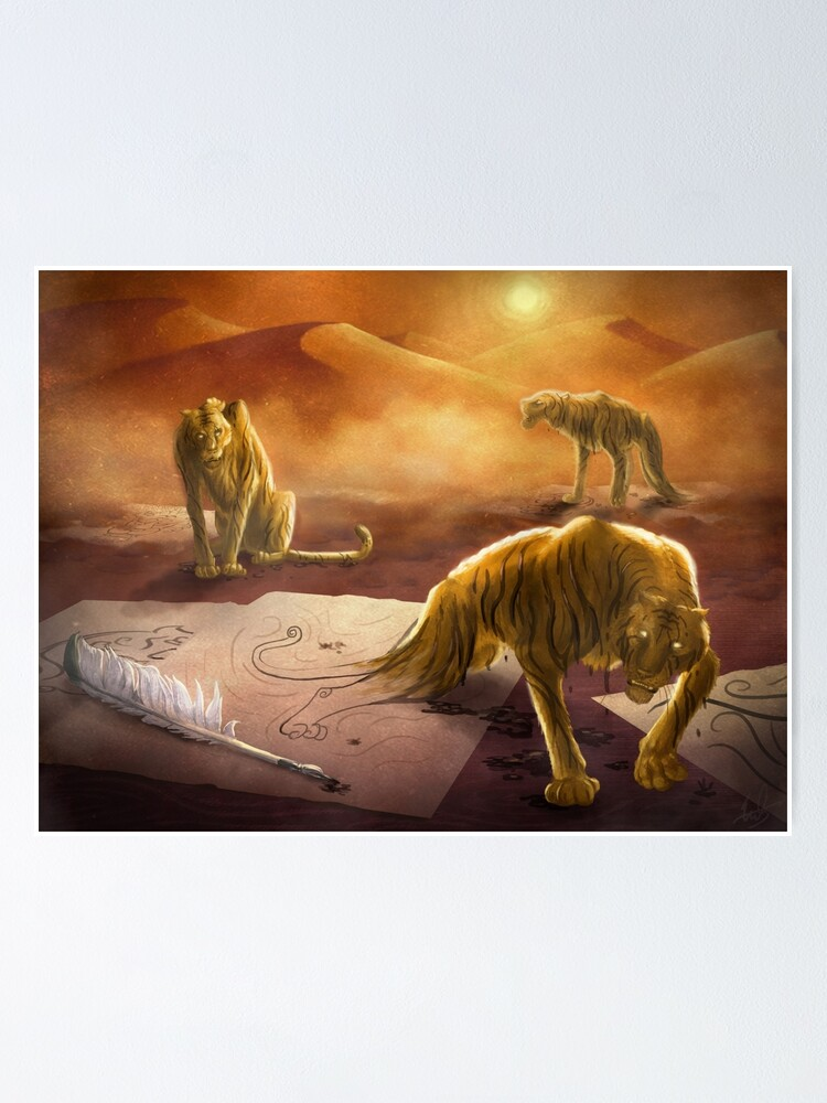 Alternate view of Dreamtigers Poster