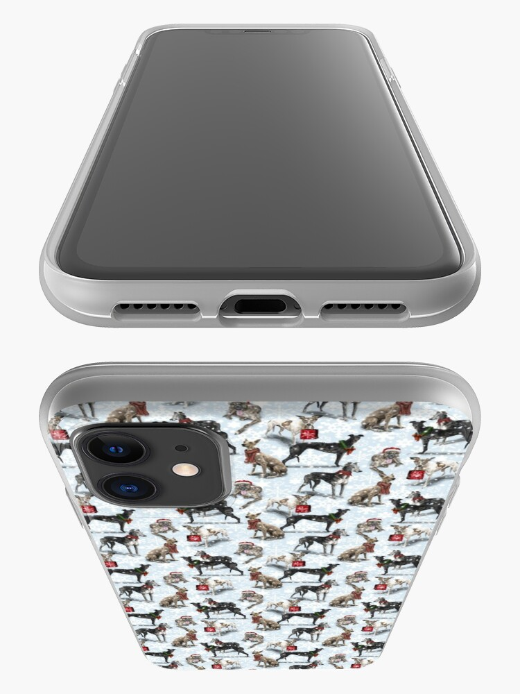 Alternate view of The Christmas Greyhound iPhone Case & Cover