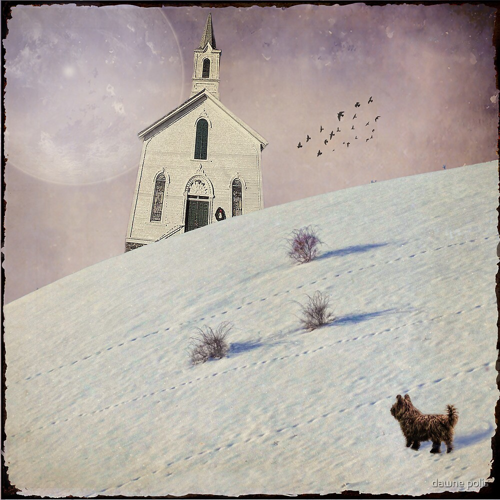 { booboo was never late for church...} by dawne polis