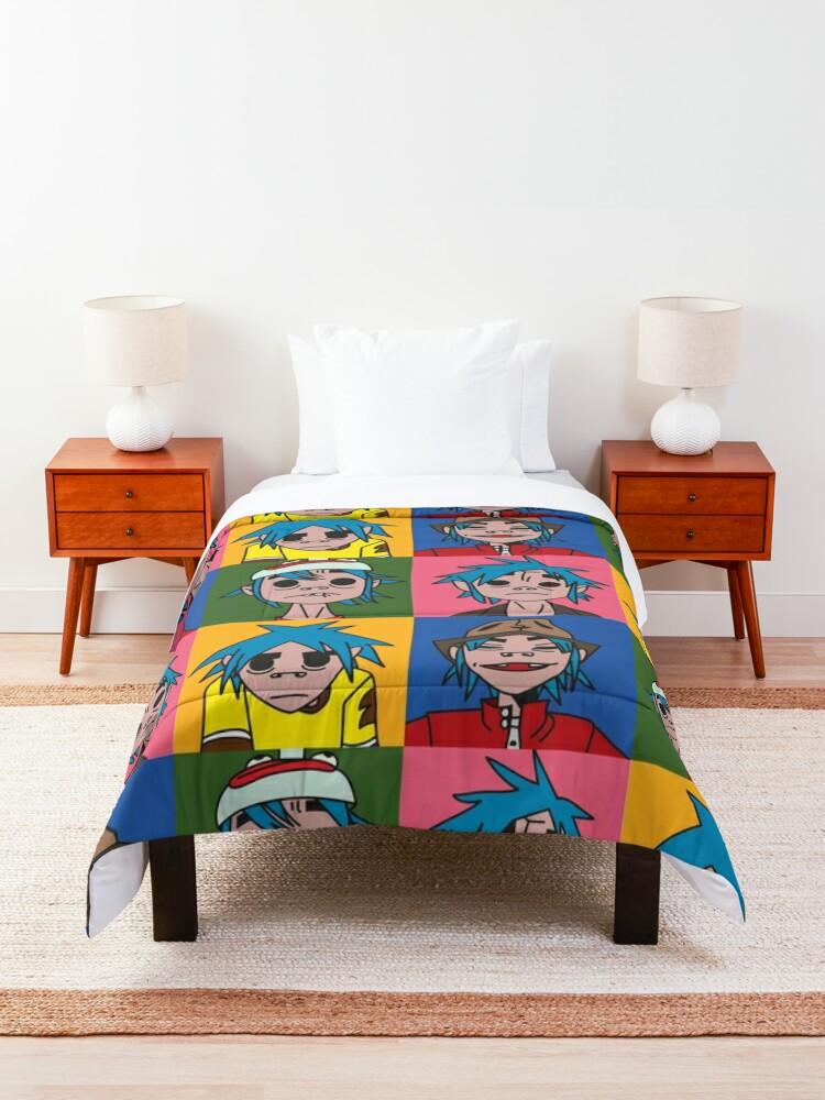 Alternate view of Gorillaz [2-D] Comforter