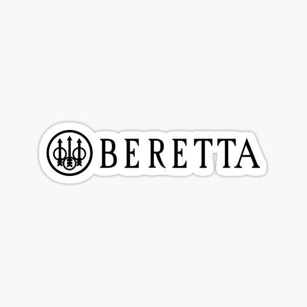 Pistolet Beretta Black Gun Sticker