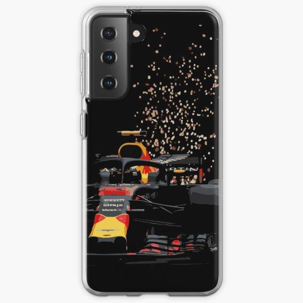 Max Verstappen - Redbull Monaco Coque souple Samsung Galaxy