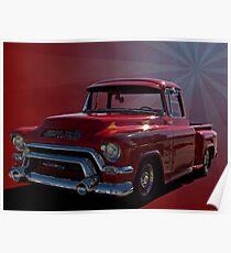 1955 GMC 100 Pickup Truck Poster