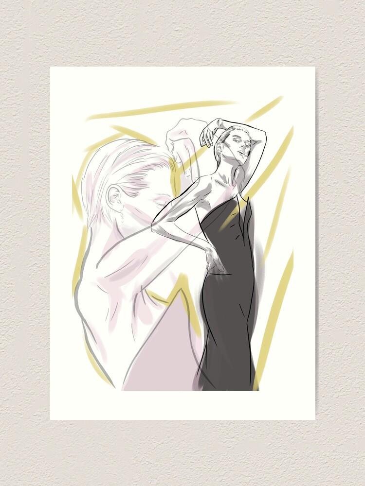 Alternate view of Elizabeth Debicki Art Print