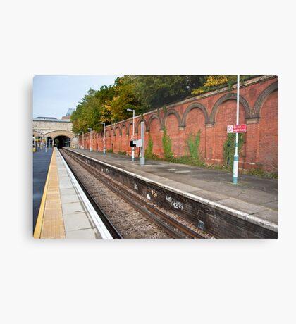 Crystal Palace Train Station: London, UK. Metal Print