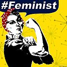 Rosie the Riveter B&W | Feminist by yourownunique