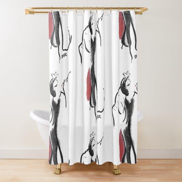 Where Pictures Shine - Cruella De Vil Shower Curtain