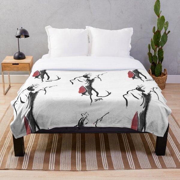 Where Pictures Shine - Cruella De Vil Throw Blanket
