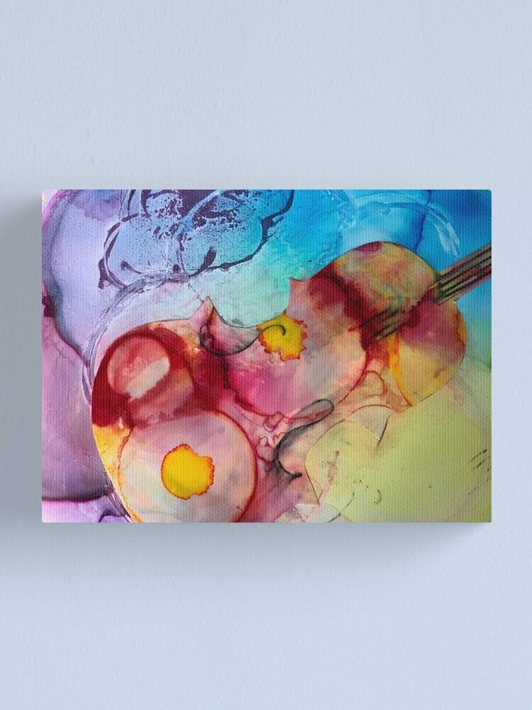 Alternate view of Violin Magic Canvas Print