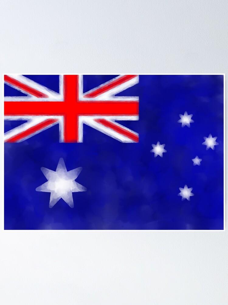 Alternate view of Australian Flag Poster