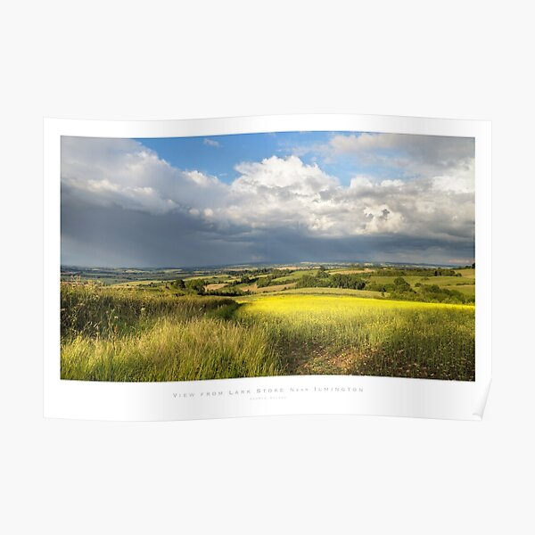 Ilmington, Warwickshire Poster