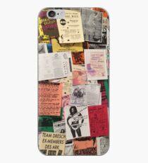 Riot Grrrl Fliers (1996) iPhone Case