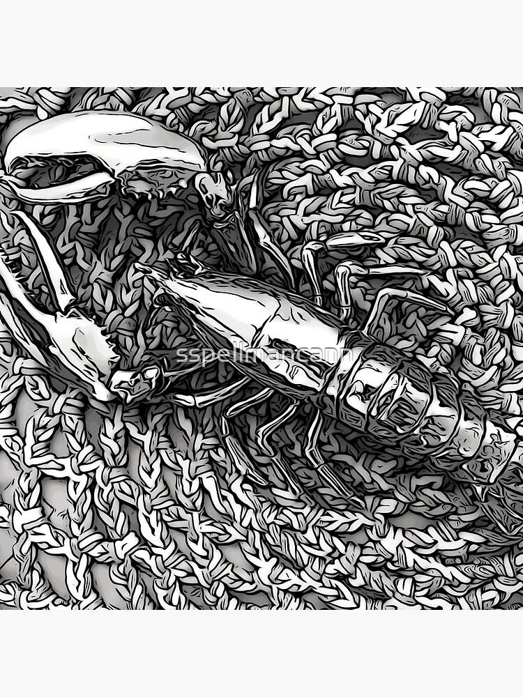Loving Lobster by sspellmancann