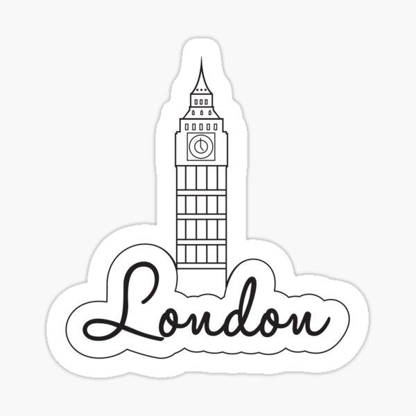 London | Big Ben Sticker