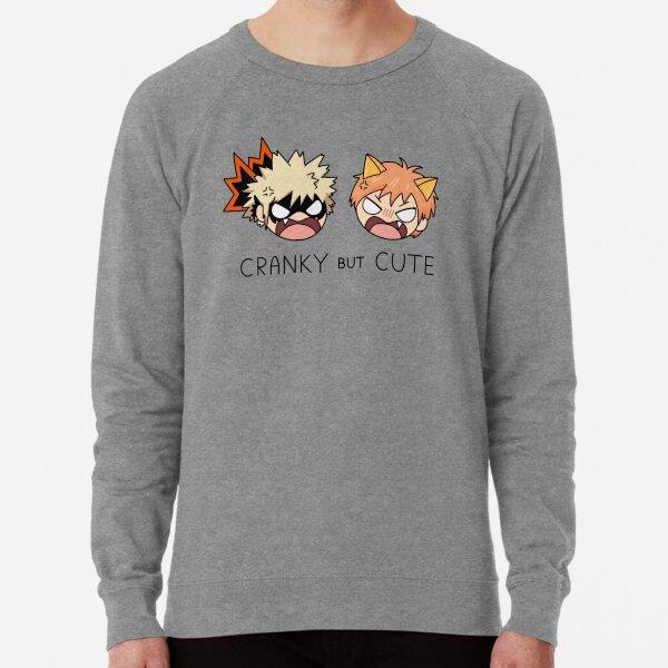 Grincheux mais mignon! ~ Kacchan & Kyo Sweatshirt léger