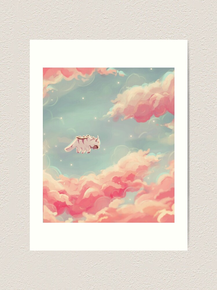 Alternate view of dreamy appa poster v1 Art Print