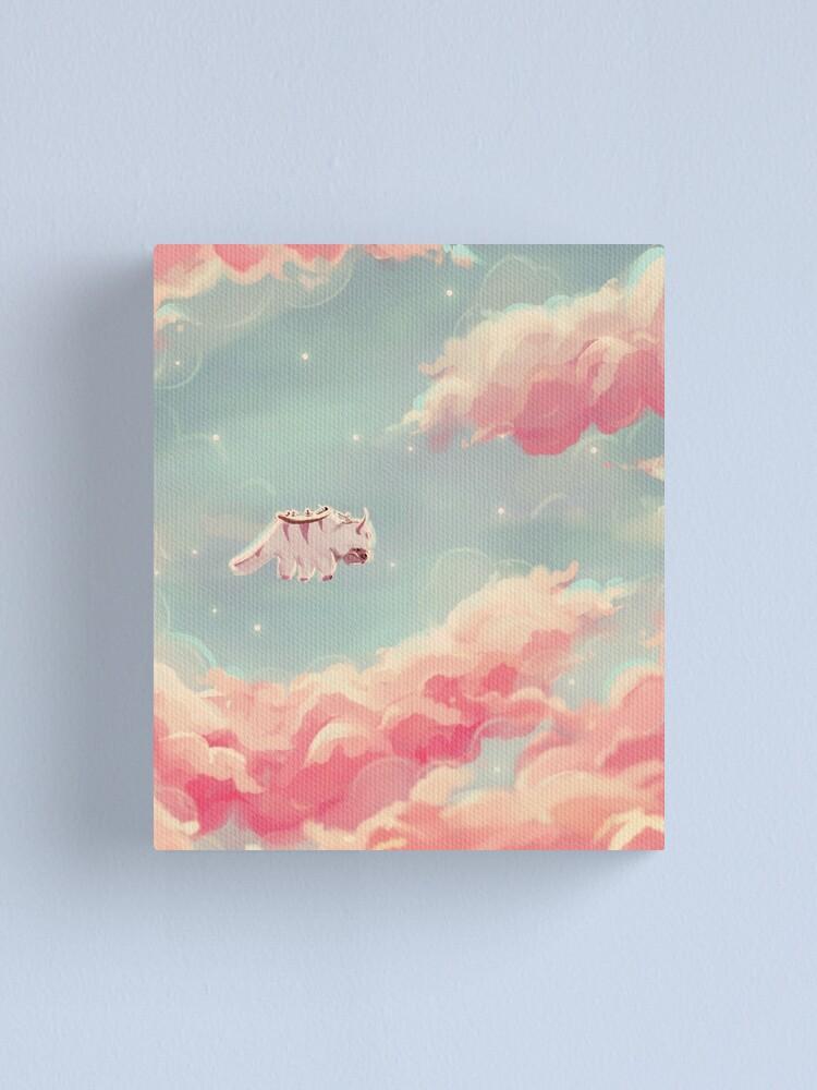 Alternate view of dreamy appa poster v1 Canvas Print