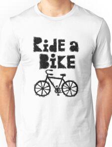 Ride a Bike - woody T-Shirt