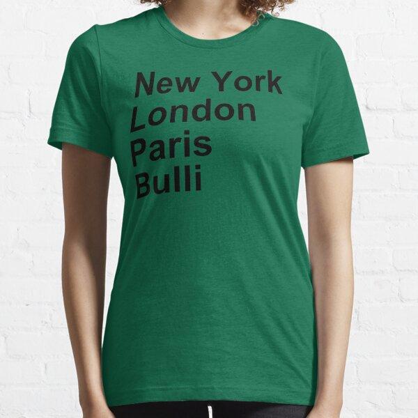 New York London Paris Bulli Essential T-Shirt