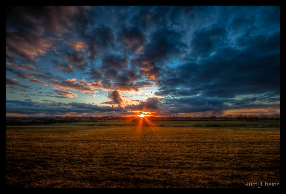 Sunset Fields by RustyChains