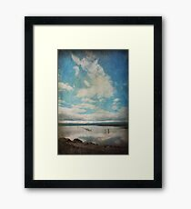 Then I Turned To You Framed Print