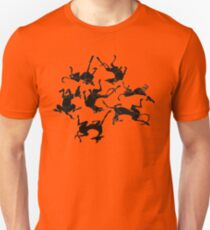 sleeping greyhounds Unisex T-Shirt