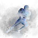 Amerikanischer Fußballspieler 1 von Marlene Watson