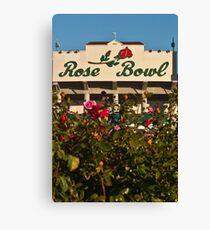 The Rose Bowl Canvas Print