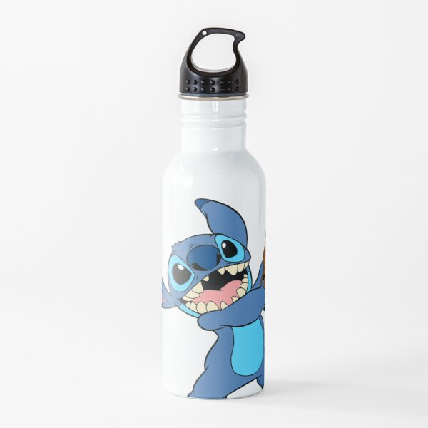 Stitch and his ukulele :) Water Bottle
