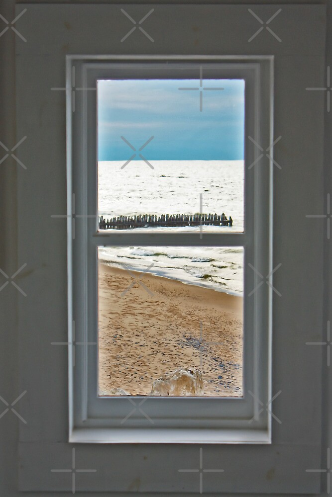 Through the Lighthouse Window 2 by Megan Noble