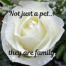 Not just a pet...they are family. by Kamira Gayle