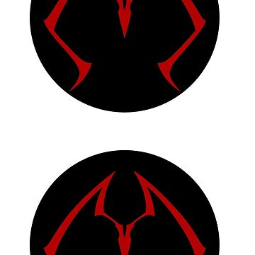 Twintails logo circlular by xebec