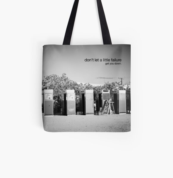 failure All Over Print Tote Bag