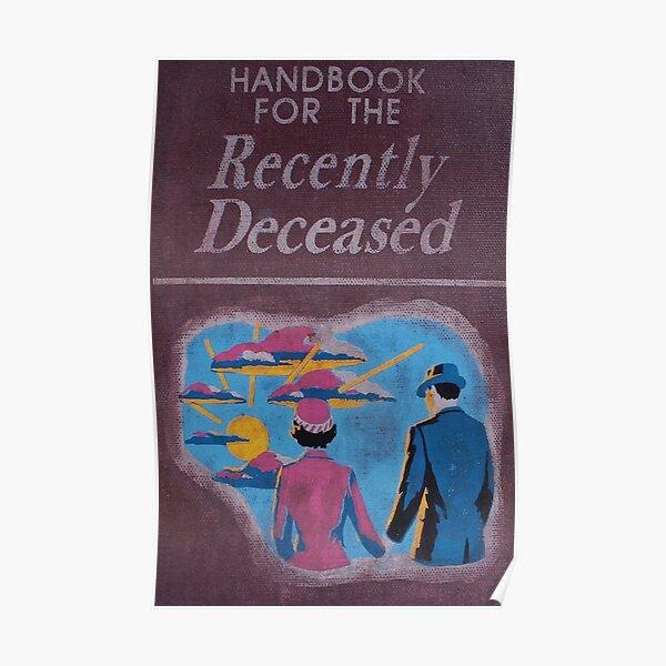 Handbook for the recently deceased Poster