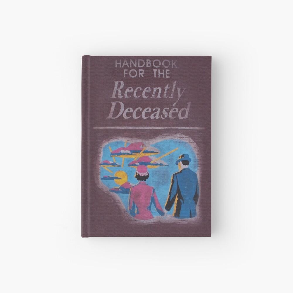 Handbook for the recently deceased Hardcover Journal