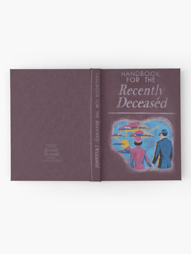 Alternate view of Handbook for the recently deceased Hardcover Journal