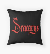 Dracarys - Red Floor Pillow