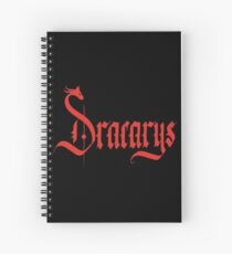 Dracarys - Red Spiral Notebook