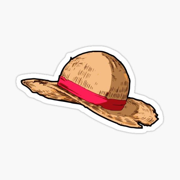 Straw Hat Pegatina